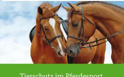 Leitlinien für den Tierschutz im Pferdesport